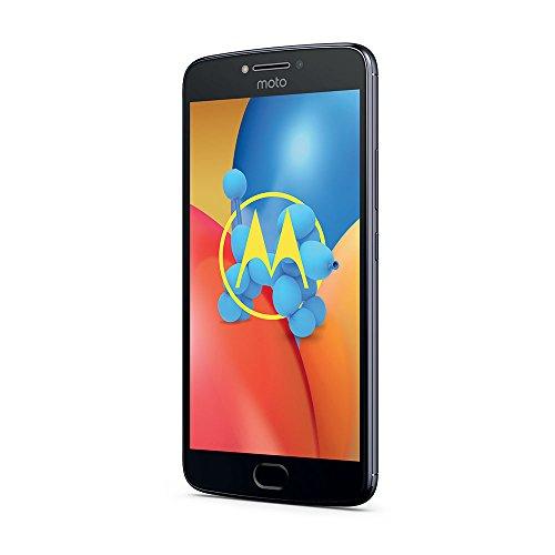 """Moto E4 Plus - Smartphone libre Android 7 (pantalla HD de 5.5"""", 4G, cámara de 13 MP, 3 GB, 16 GB, MediaTek MT6737 de cuatro núcleos y 1.3 GHz), color gris"""