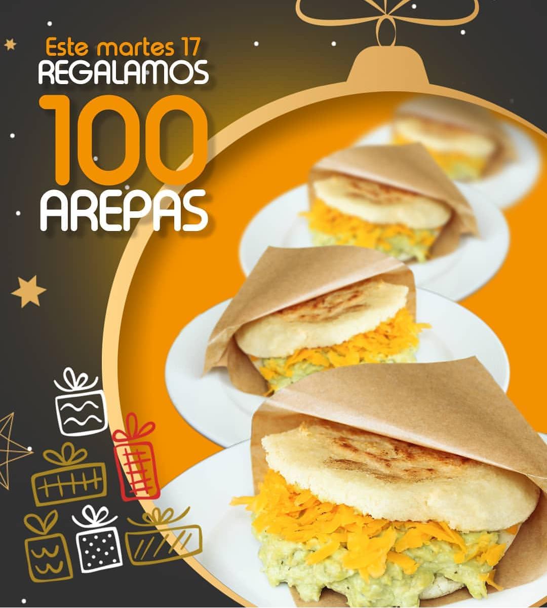 Arepa gratis en Tepuy burguer (Solo en Alicante)