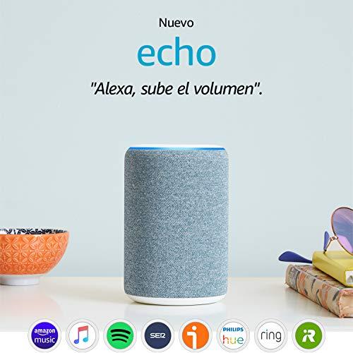 Amazon Echo Altavoz inteligente con Alexa