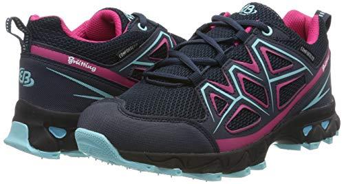 TALLA 38 - Bruetting Power, Zapatillas de Senderismo para Mujer