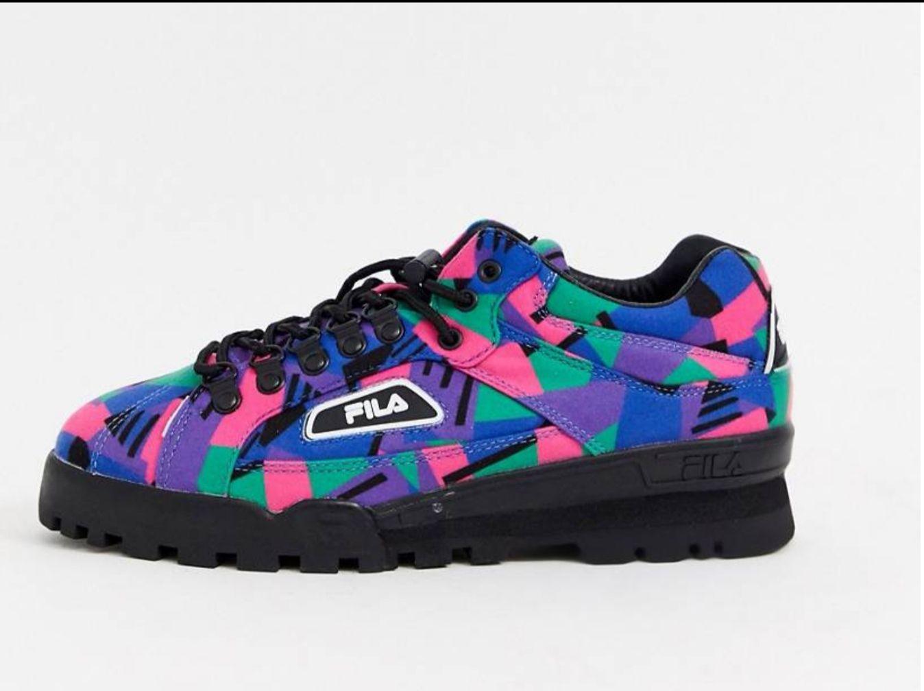 Zapatillas estilo excursionista TrailBlazer de Fila