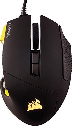 Ratón óptico Corsair Scimitar Pro RGB / 16.000 DPI, 12 botones laterales