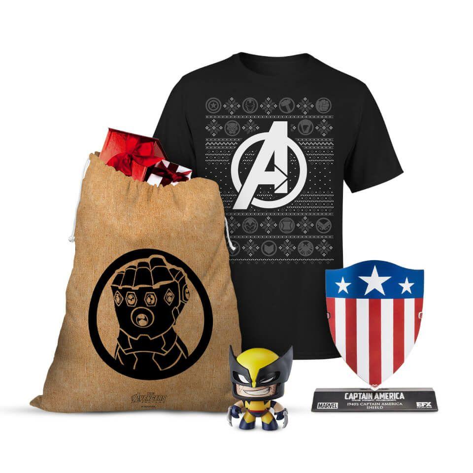 Pack Navidad Marvel (S y XL)