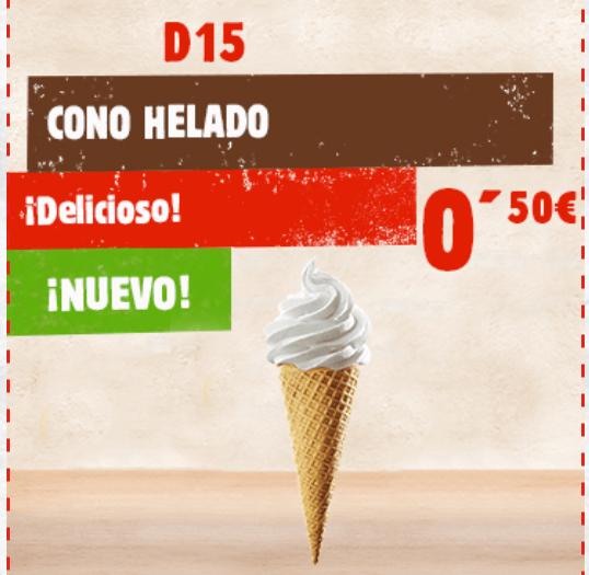 Cono Burger King (D15)