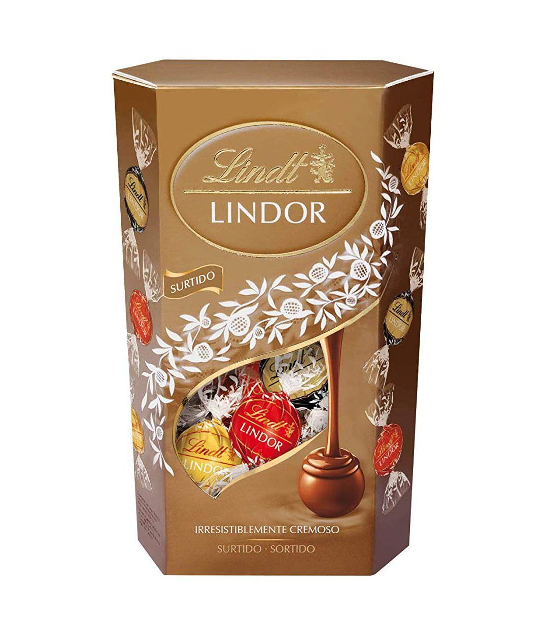Bombones 3 chocolates Lindt caja 600g