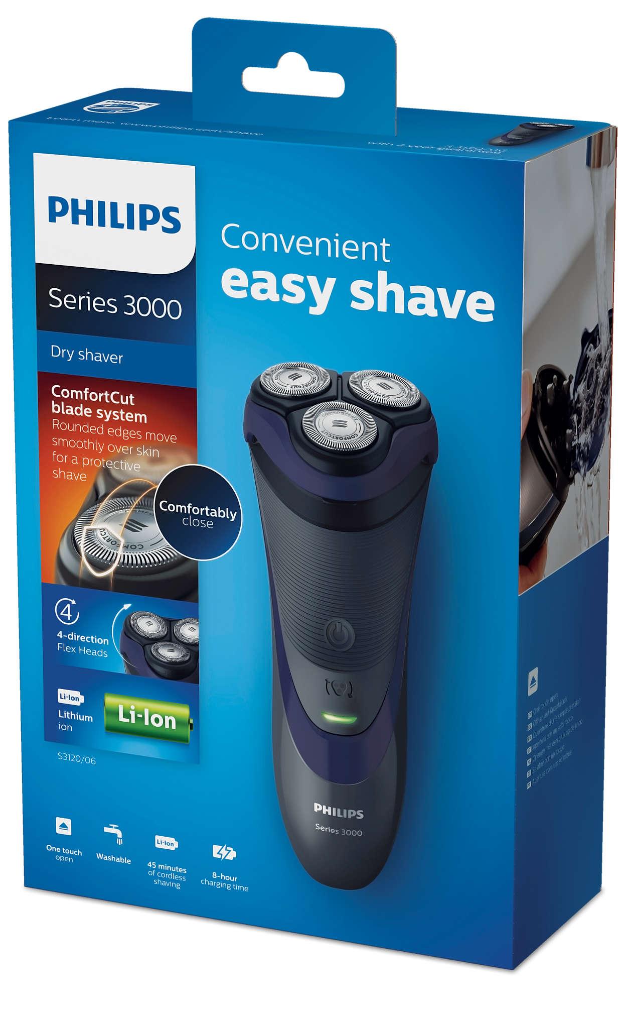 Afeitadora Philips S3120/06 SERIE 3000 (Carrefour)