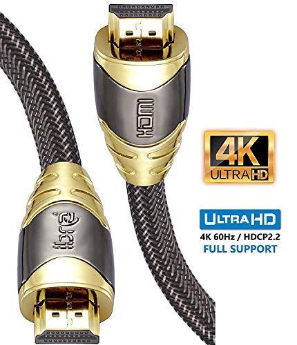 Cables HDMI IBRA Luxury - 18Gb/s HDMI 2.0b Soporte 4K@60Hz - Oferta Flash! +39%