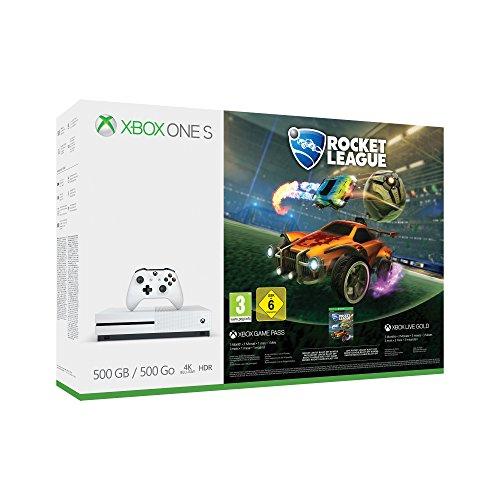 Xbox One S con juegos solo 165€