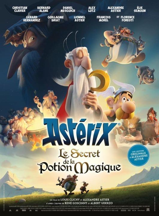 Entrada GRATIS, para ver Astérix: El secreto de la poción mágica a cambio de alimentos