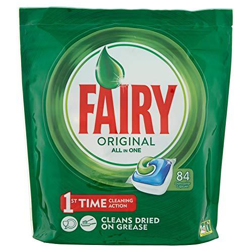 84 Cápsulas Fairy lavavajillas