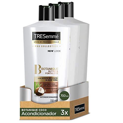 TRESemmé Acondicionador Botanique Coco - Paquete de 3 x 700 ml - Total: 2100 ml