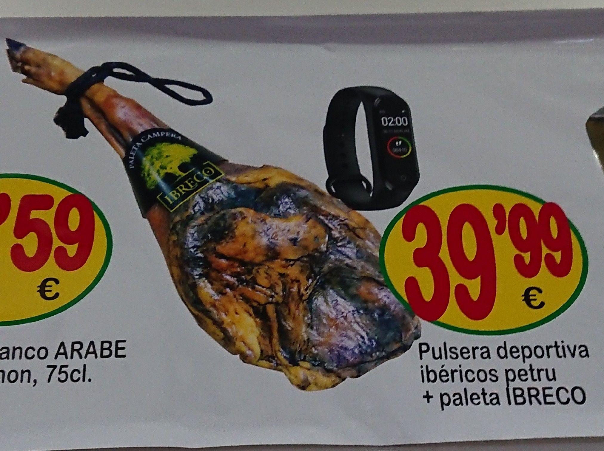 Pulsera deportiva ibéricos petru + paleta IBRECO por 39,99 €