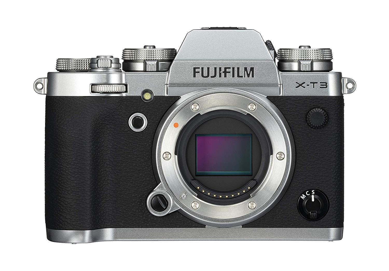 Fujifilm X-T3 color plata (mínimo histórico)