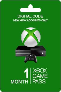 1 mes gratis de Xbox GamePass (sólo cuentas nuevas)