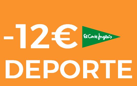 Cupón 12€ para equipamiento deportivo