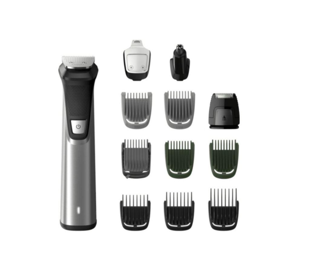 Afeitadora - Philips MG7735/25, 12 en 1, Multifunción, Cuerpo/cabeza, Seco/húmedo + Bolsa viaje (Precio válido De 22h a 10)