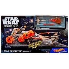 Hot Wheels Star Wars DESTROYER ASSAULT Playset