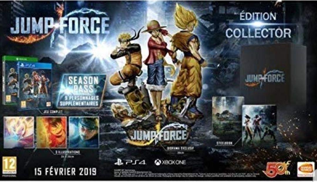Jump force coleccionista PS4