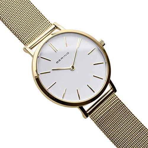 BERING Reloj Analógico para Mujer de Cuarzo
