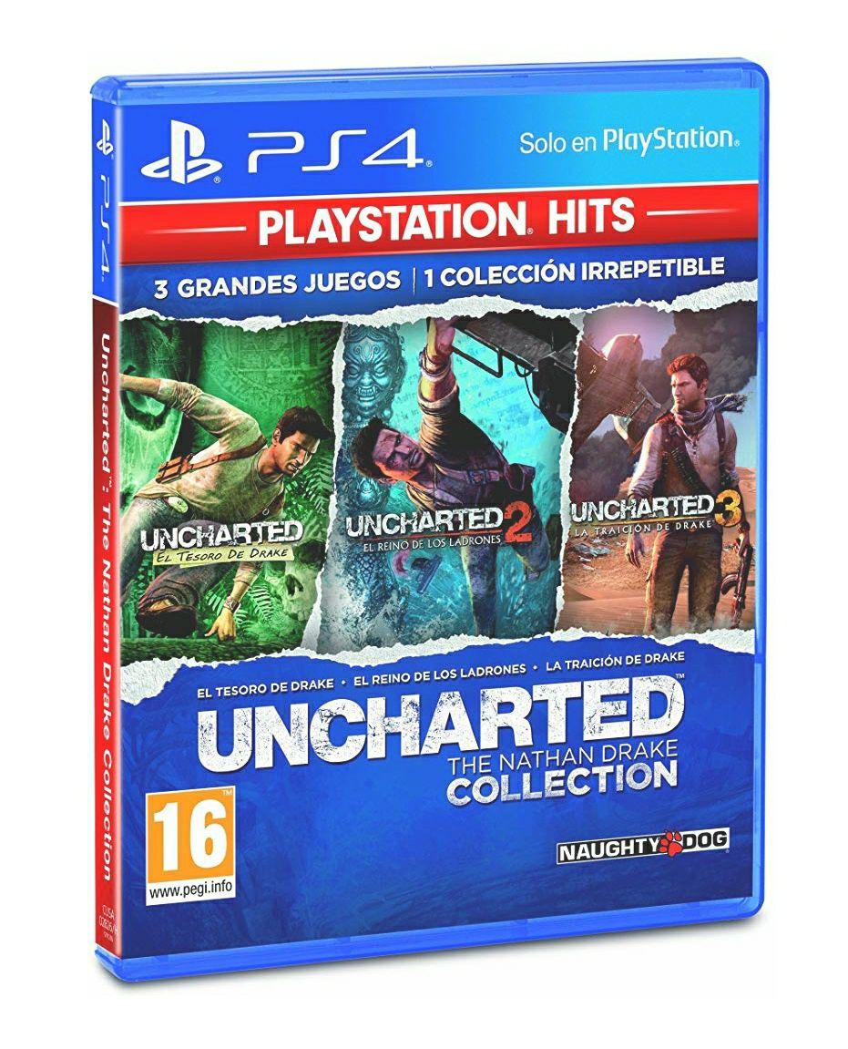 Colección Uncharted para PS4 ( Producto Amazon Plus )