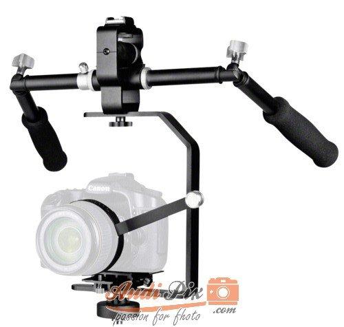 Estabilizador de cámara para videocámaras réflex