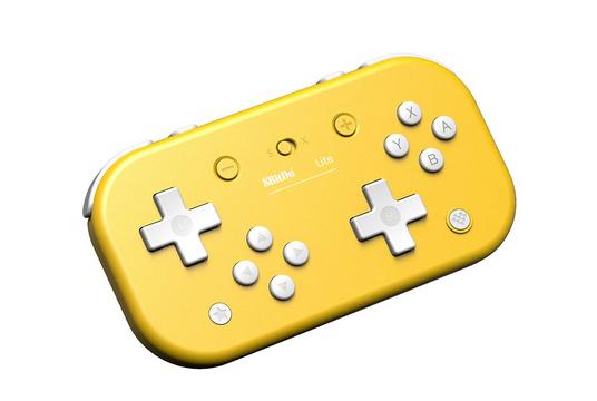 8Bitdo - Mando Wireless Lite Amarillo (Nintendo Switch - Nintendo Switch LITE)