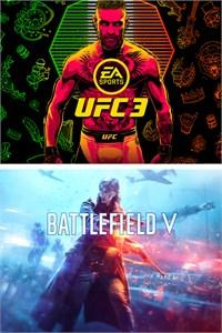 Lote BATTLEFIELD V y EA SPORTS UFC 3 (Xbox One digital)