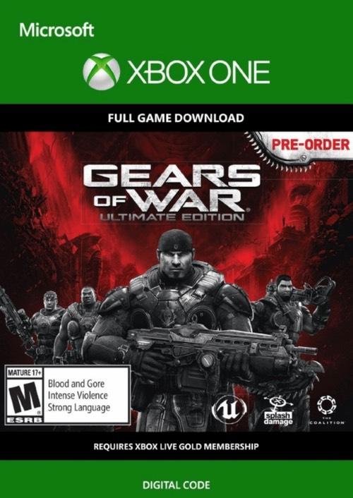 Gears of War: Ultimate Edition Xbox One por solo 1,19€