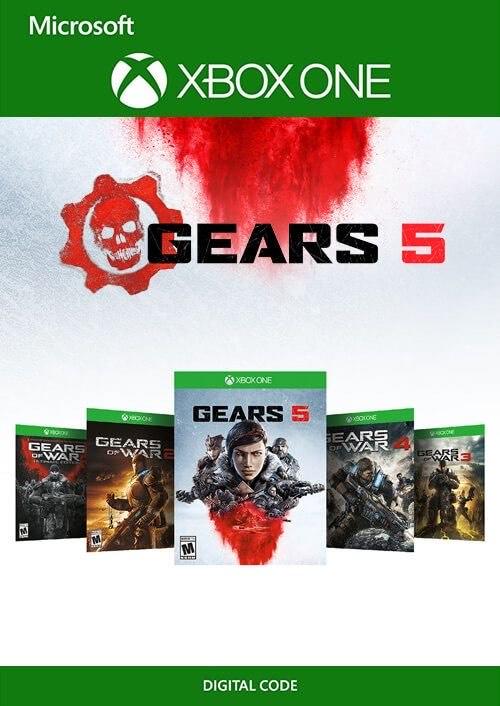 Bundle Pack Gears 5 Xbox One / PC por 19,99€ [Mínimo]