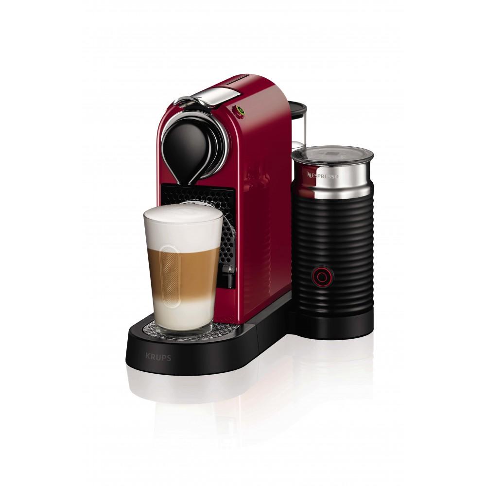 Cafetera Krups XN7605PR5 (Reacondicionado) + Aeroccino