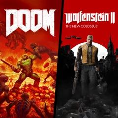 DOOM + Wolfenstein II PS4