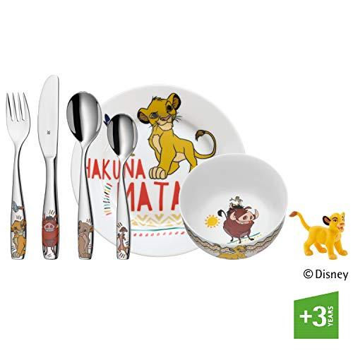 WMF Disney El Rey León - Vajilla para niños 6 piezas