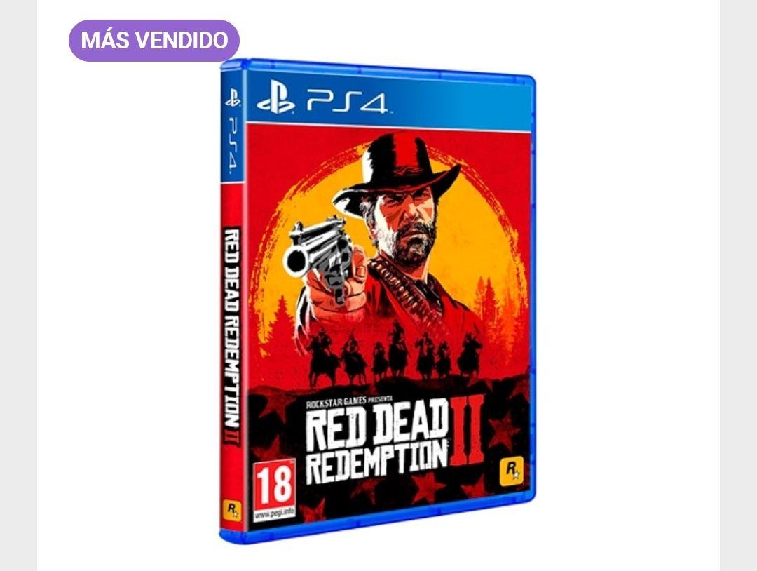 PS4 Red Dead Redemption 2(Recogida gratis)