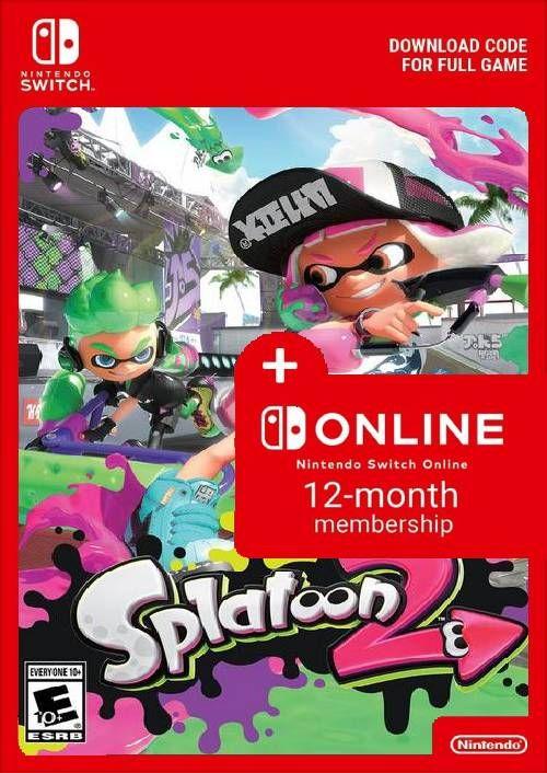 Splatoon 2 + Nintendo Switch Online 12 meses