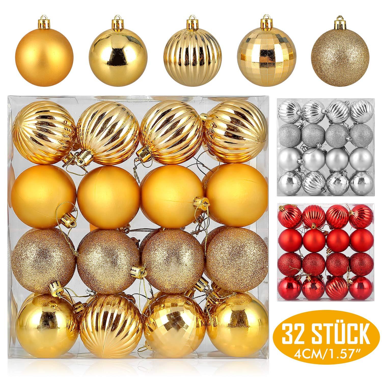 Pack 32 bolas de Navidad solo 3.5€
