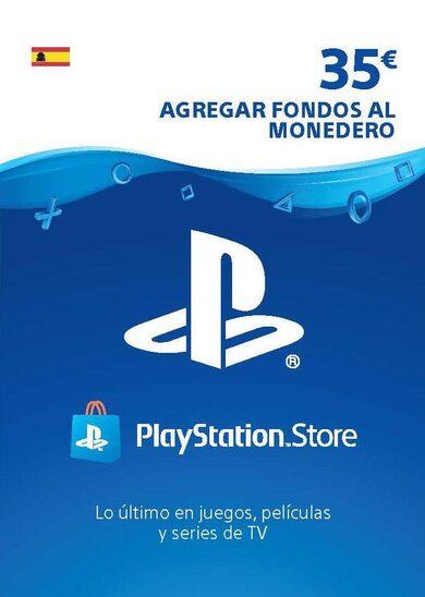 Tarjeta Playstation Network de 35€x29€ y de 50€x41€.