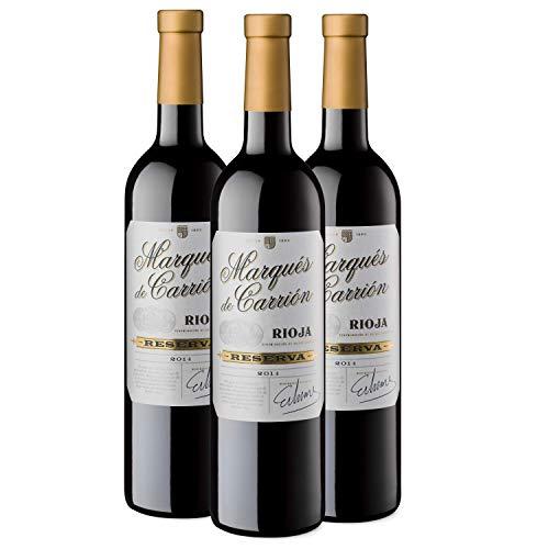 Pack 3 Marqués de Carrión Reserva Vino Tinto D.O Rioja