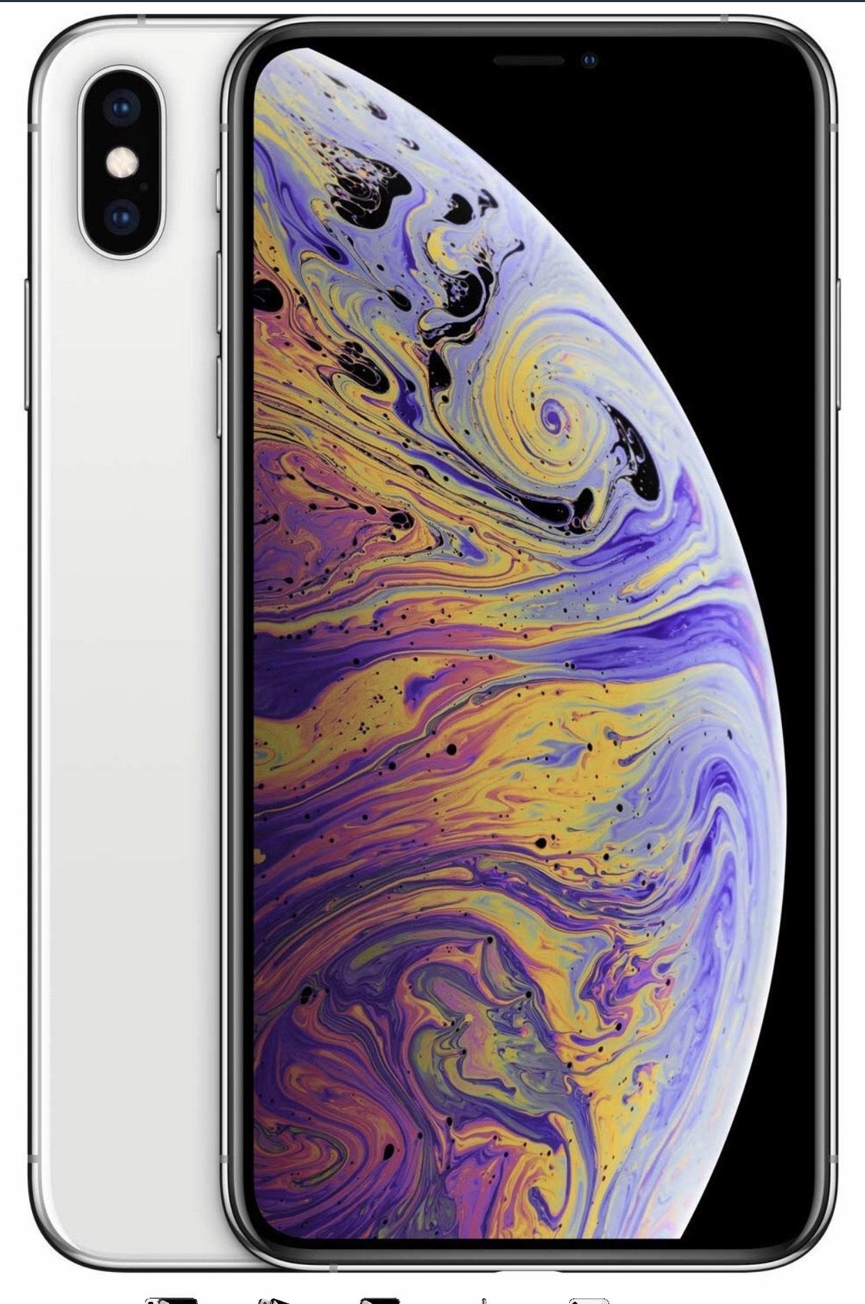 Apple iPhone XS Max (de 256GB) - Plata