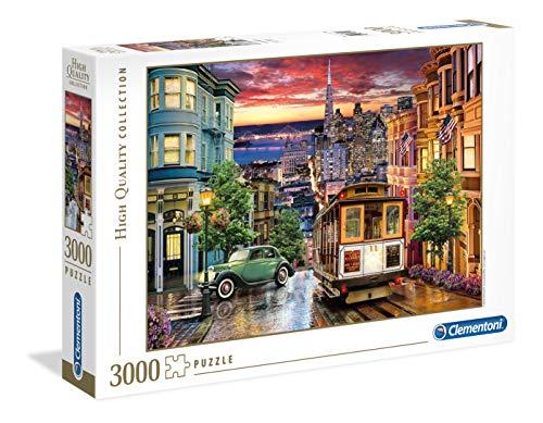 Clementoni Collection Puzzle-San francisco-3000 Unidades, 33547
