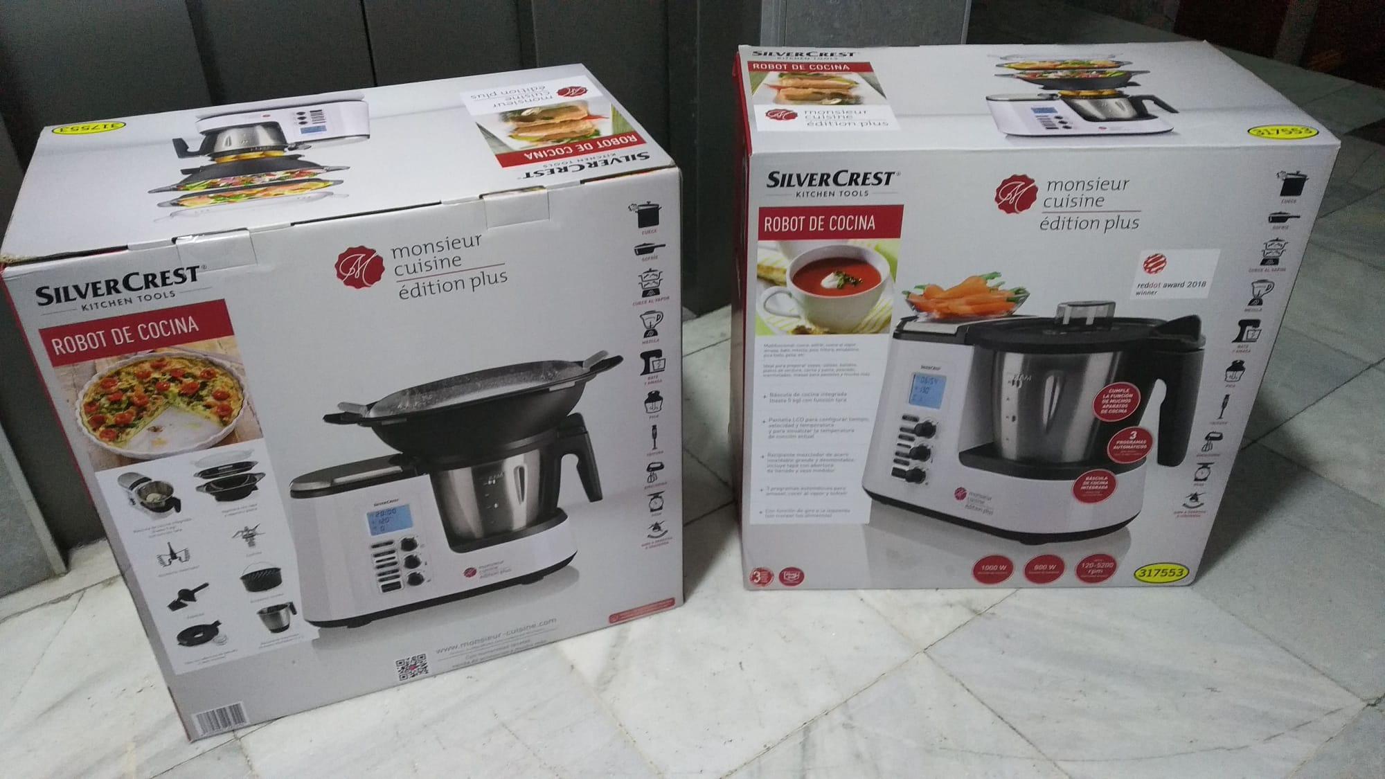 Monsieur Cuisine Plus - El famoso robot cocina Lidl (Visto en nueva tienda Lidl Elche)