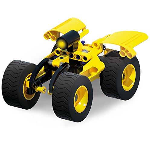 Vehículo espacial con led (juguete de construcción).