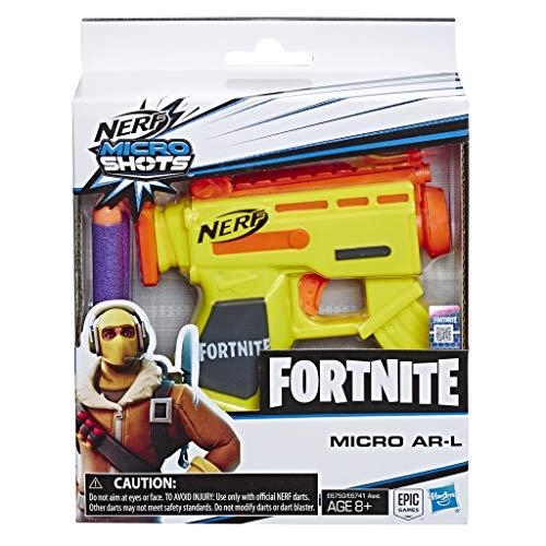Nerf Fortnite Micro Ar-L Microshots 7.99€
