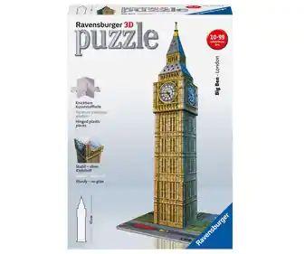 Puzzle del Big Ben de Londres 3D