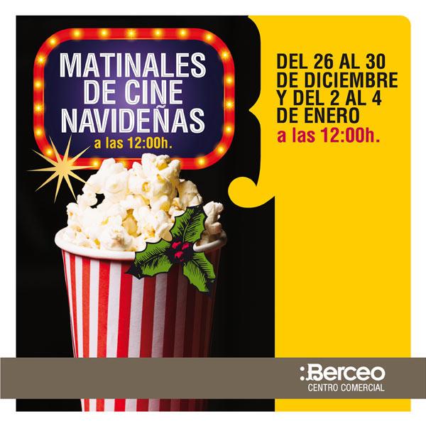 Matinales de cine navideñas en cines Yelmo CC Berceo de Logroño