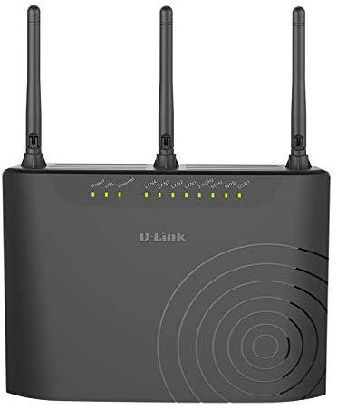 Router D-Link DSL-3682L ADSL2+ / VDSL, WiFi AC 750 Mbps (Como nuevo)