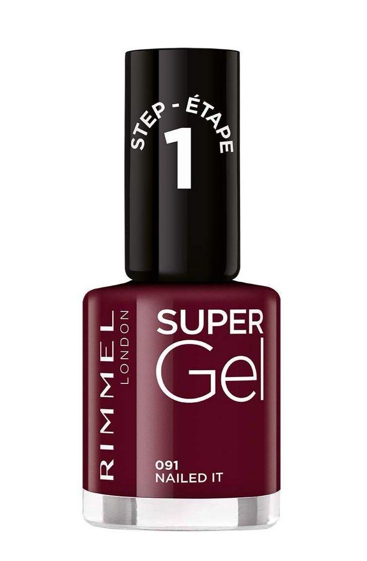 Rimmel London Super Gel Colour Esmalte de Uñas Tono 91-47 gr (plus)