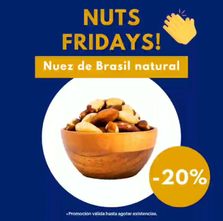 Nuez de Brasil natural 200g