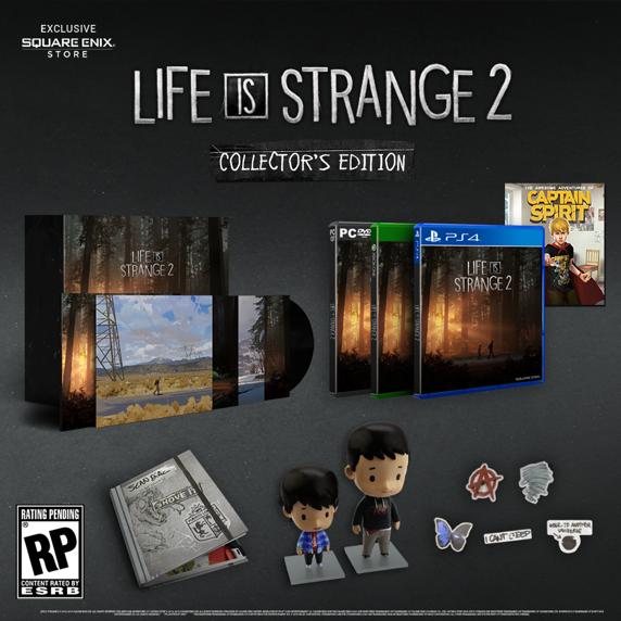 Life is Strange 2 Edición Coleccionista Pc/PS4/XBOX