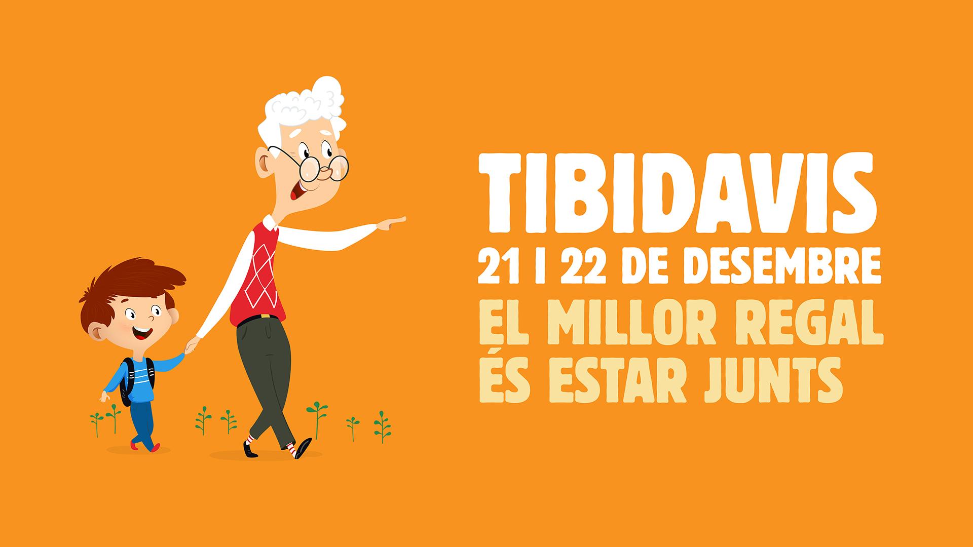 Abuelos y nietos gratis al Tibidabo el 21 y 22 de diciembre