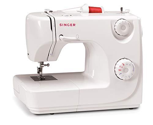 REACO - COMO NUEVO - Singer 8280 - Máquina de coser automática, 8 puntadas, color blanco